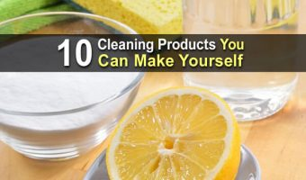 10 Cleaning Products You Can Make Yourself