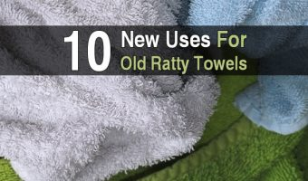 10 New Uses for Old Ratty Towels