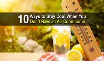10 Ways to Stay Cool When You Don't Have an Air Conditioner