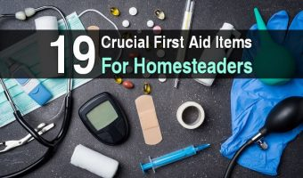 19 Crucial First Aid Items for Homesteaders