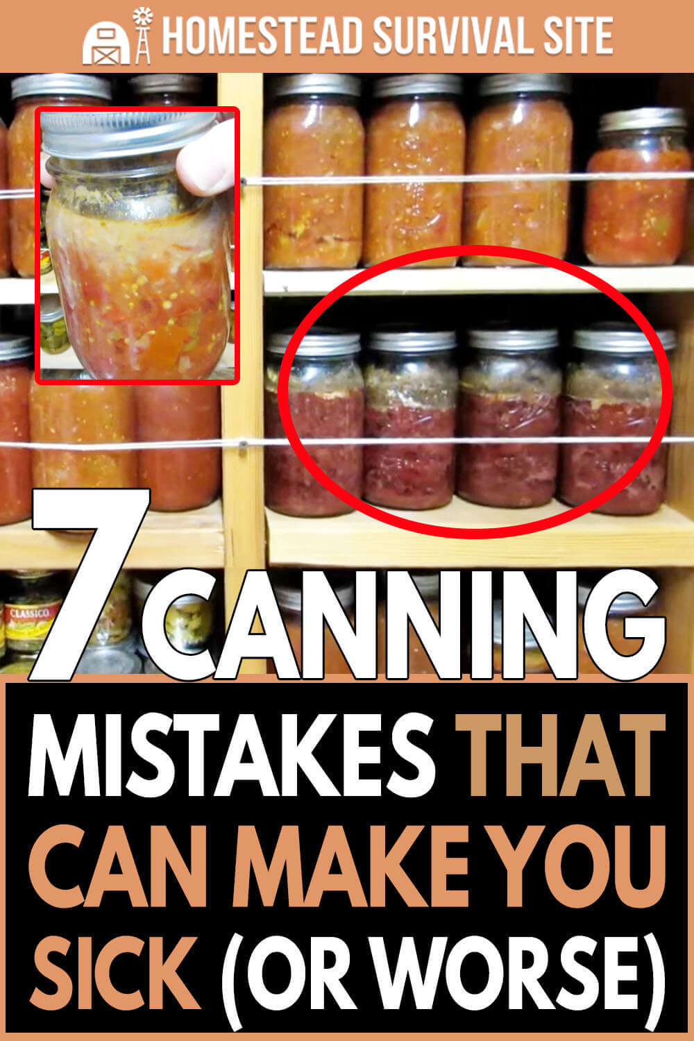 7 Canning Mistakes That Can Make You Sick (Or Worse)