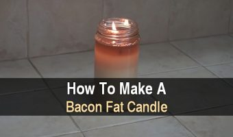 How to Make a Bacon Fat Candle