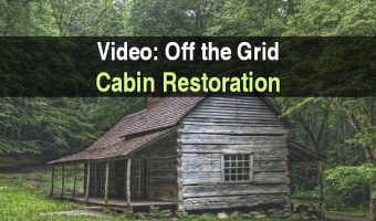 Video: Off the Grid Cabin Restoration