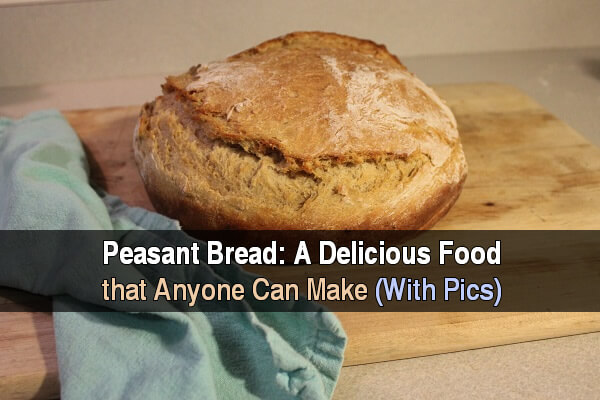 Peasant Bread: A Delicious Food That Anyone Can Make (With Pics)