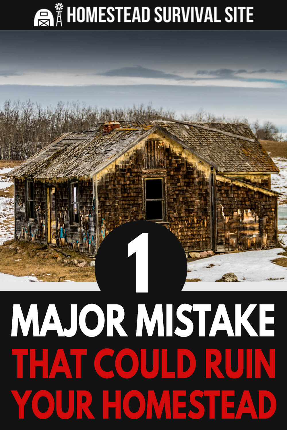 1 Major Mistake That Could Ruin Your Homestead