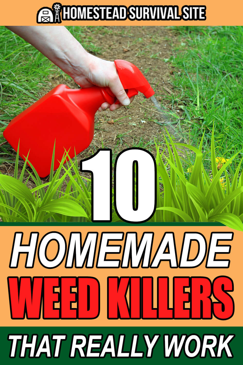10 Homemade Weed Killers That Really Work