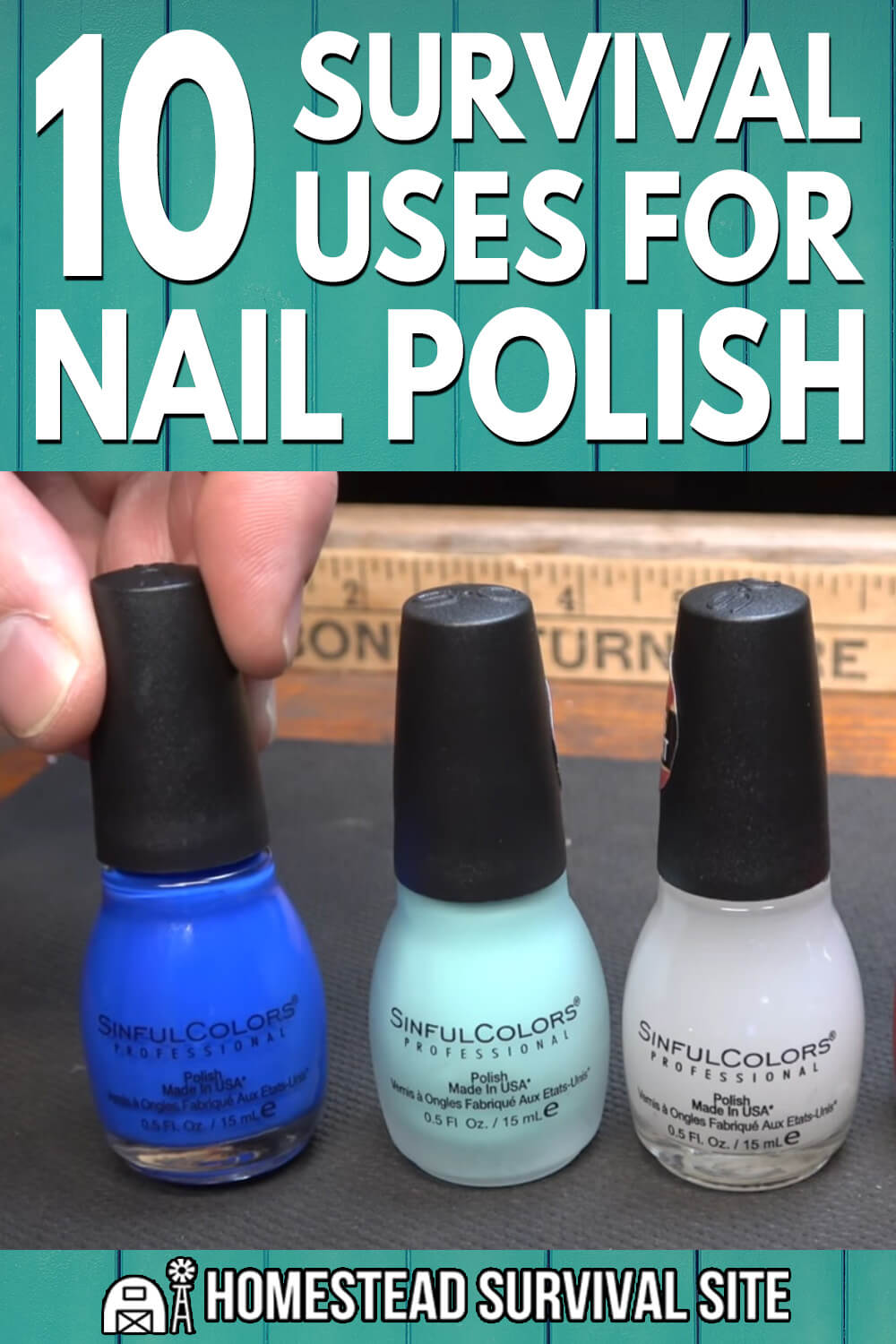 10 Survival Uses for Nail Polish