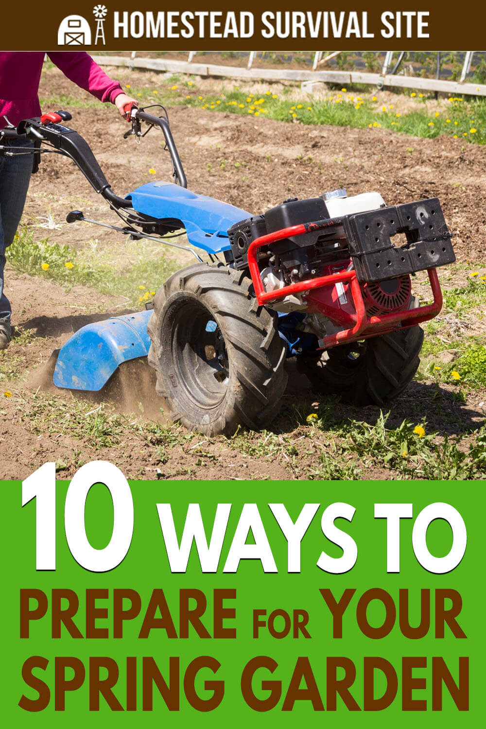 10 Ways to Prepare For Your Spring Garden