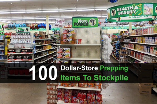 100 Dollar-Store Prepping Items To Stockpile