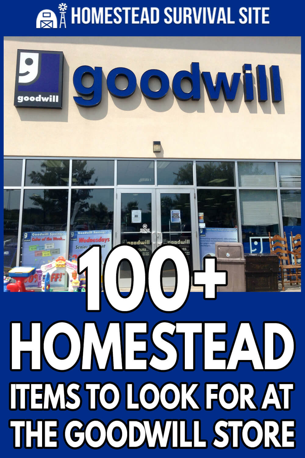 100+ Homestead Items To Look For At The Goodwill Store