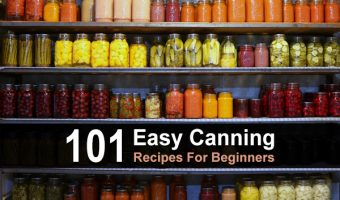 101 Easy Canning Recipes For Beginners