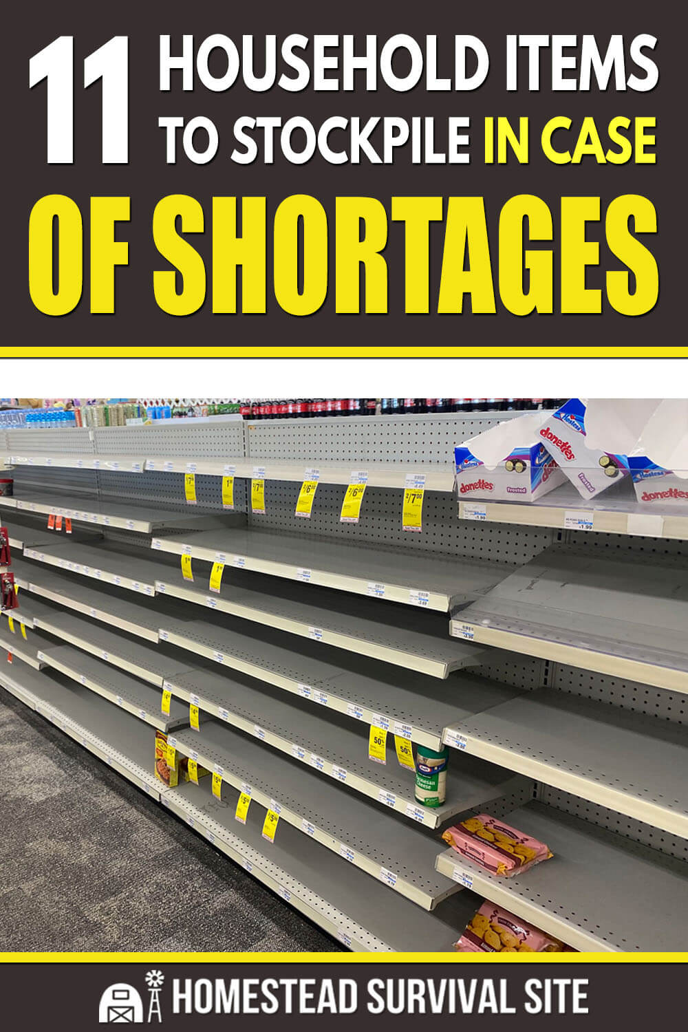 11 Household Items To Stockpile In Case of Shortages