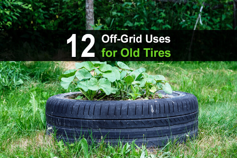 12 Off-Grid Uses for Old Tires