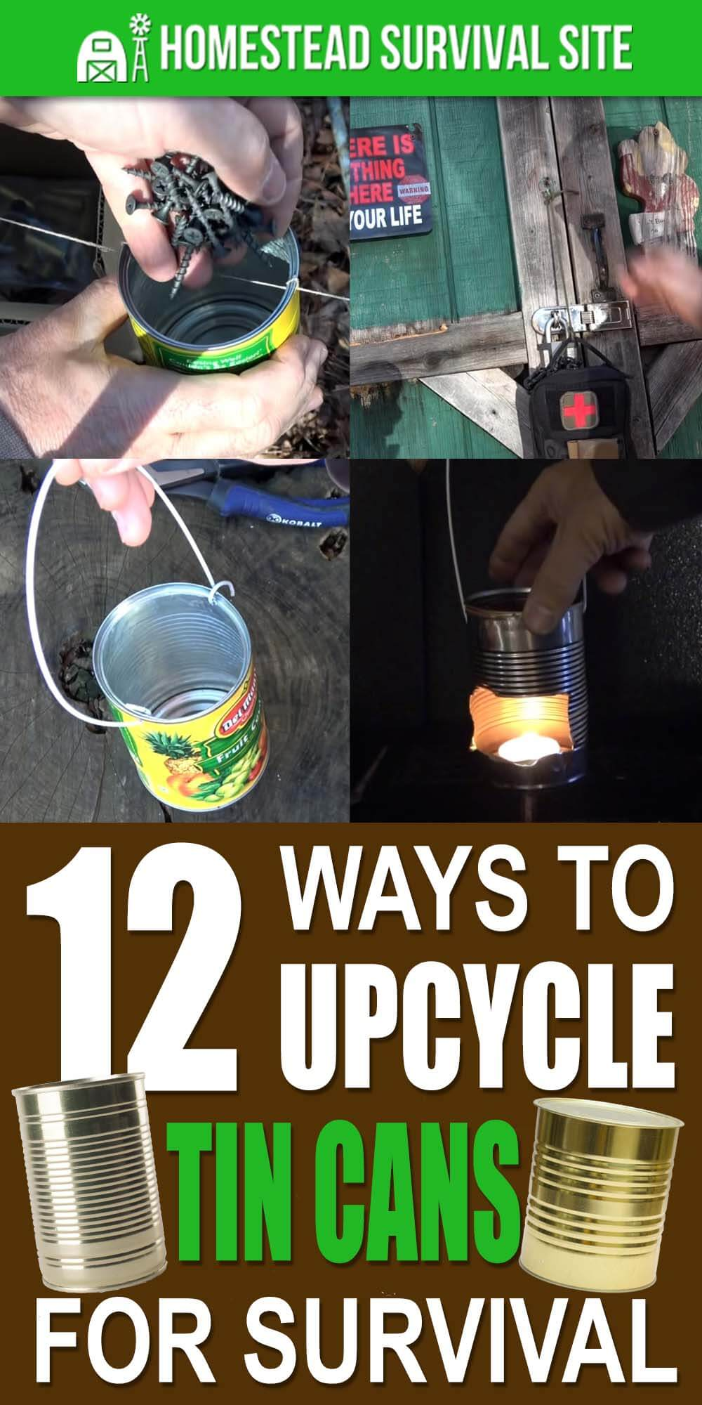 12 Ways To Use Tin Cans For Survival