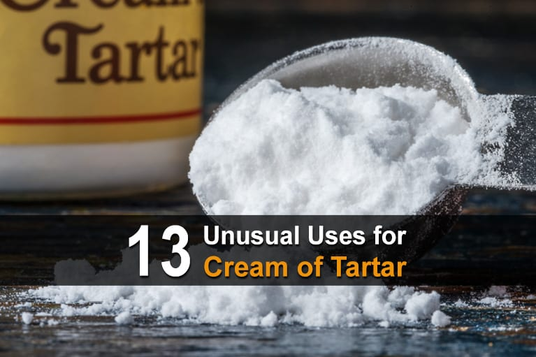 13 Unusual Uses for Cream of Tartar