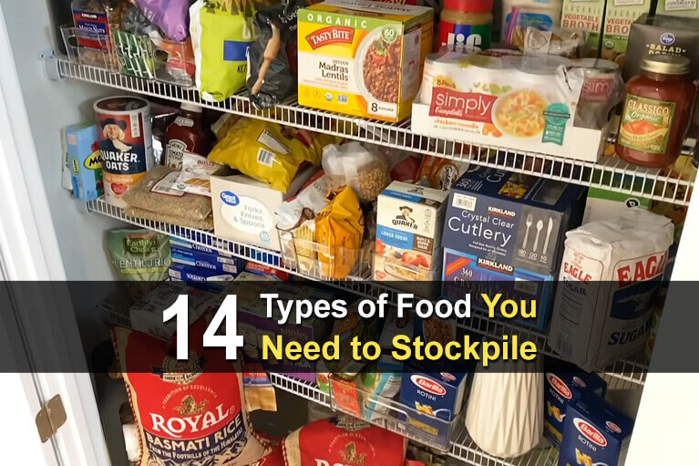14 Types of Food You Need to Stockpile