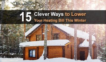 15 Clever Ways to Lower Your Heating Bill This Winter