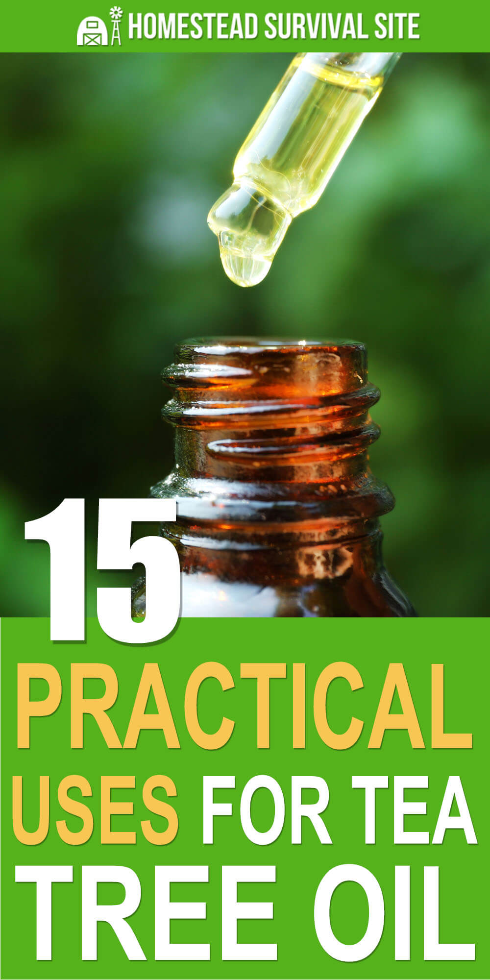 15 Practical Uses For Tea Tree Oil