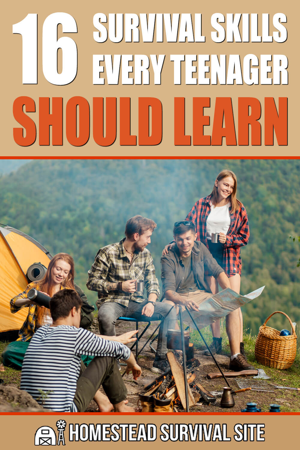 16 Survival Skills Every Teenager Should Learn