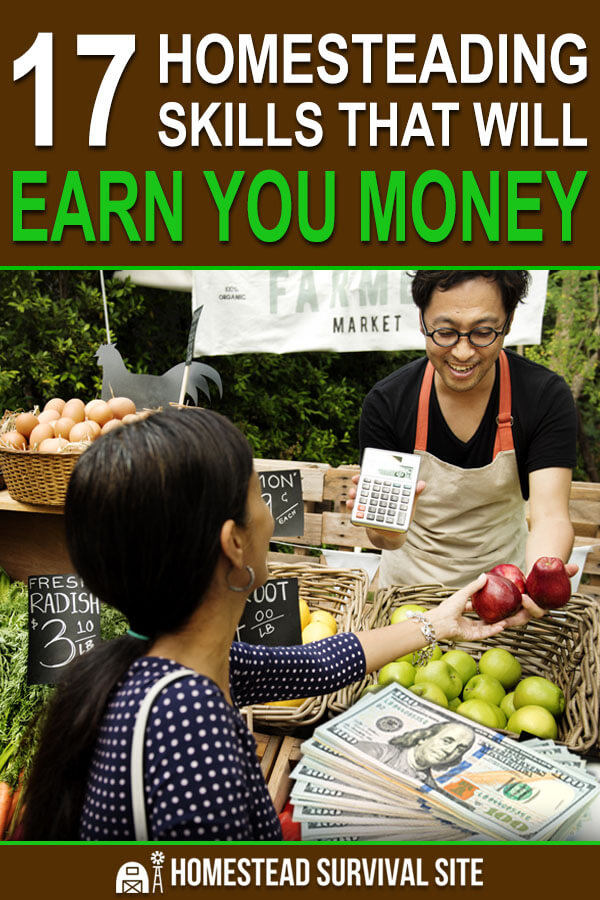17 Homesteading Skills That Will Earn You Money
