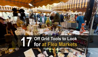 17 Off Grid Tools and Supplies to Search for at Flea Markets