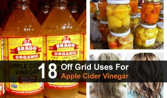 18 Off Grid Uses For Apple Cider Vinegar
