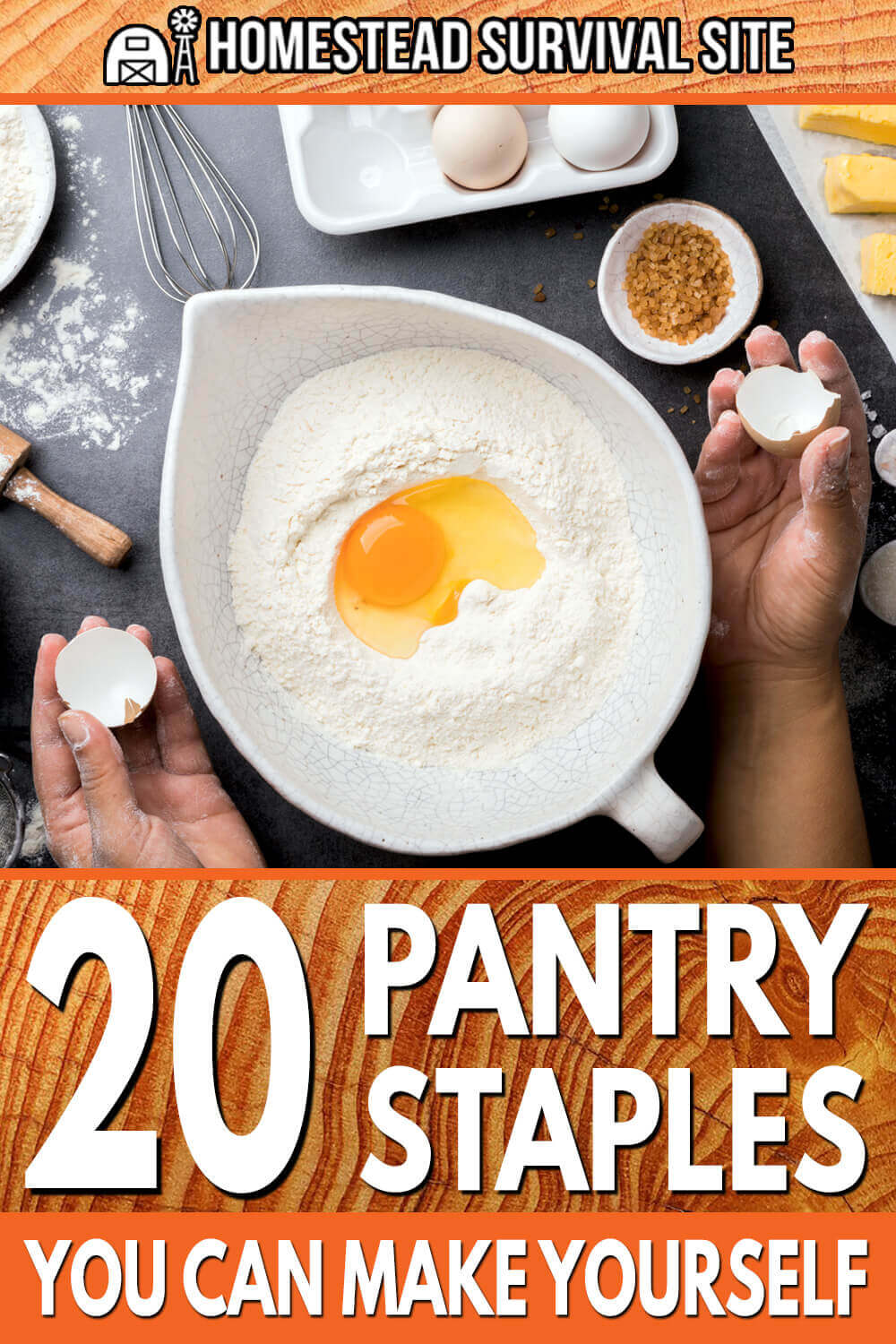 20 Pantry Staples You Can Make Yourself