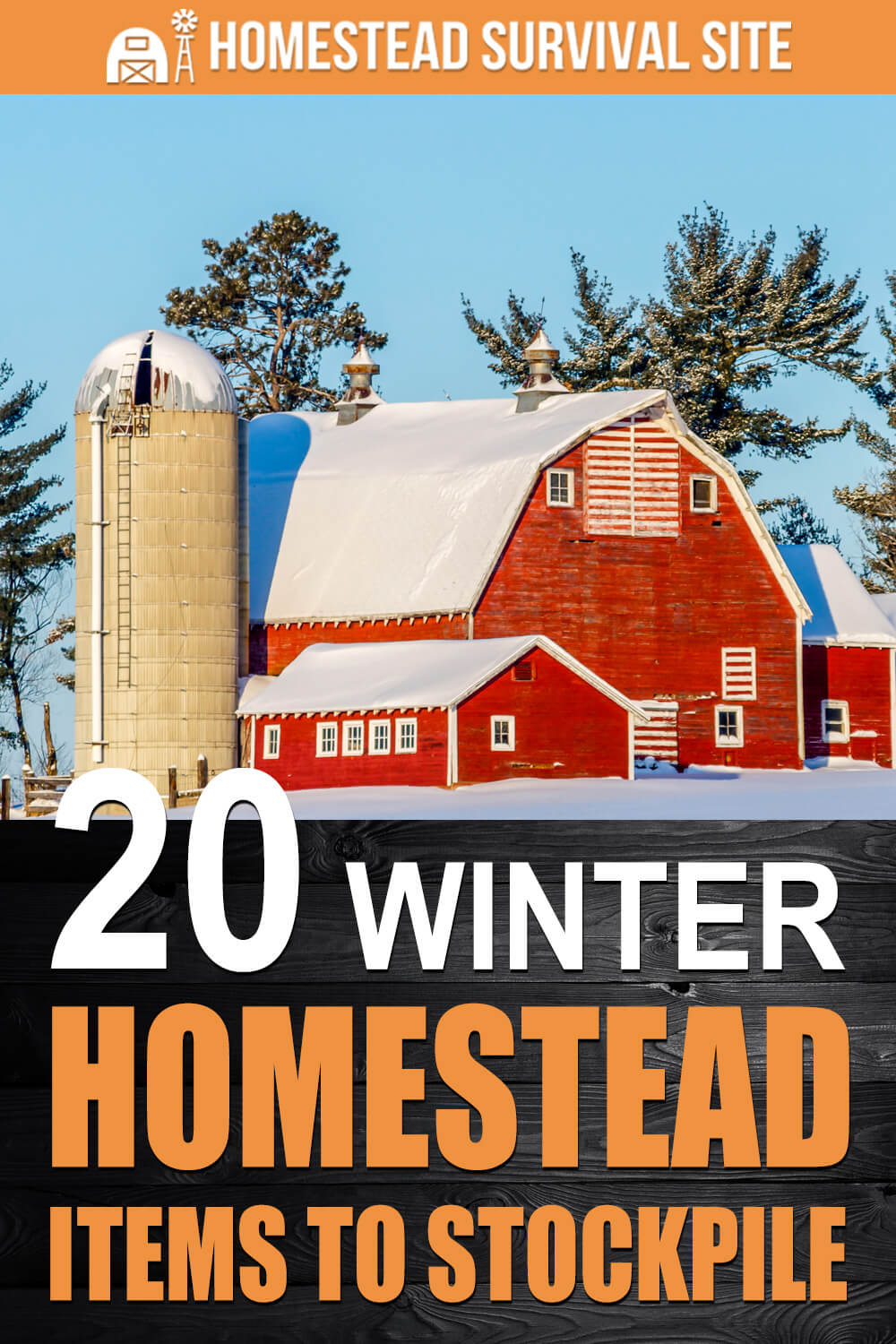 20 Winter Homestead Items To Stockpile