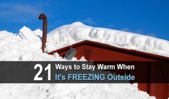 21 Ways to Stay Warm When It's FREEZING Outside