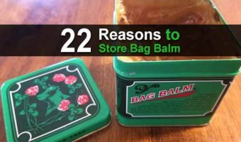 22 Reasons to Store Bag Balm