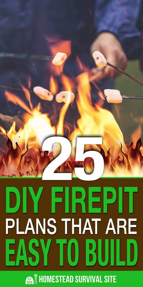 25 DIY Fire Pit Plans That Are Easy To Build