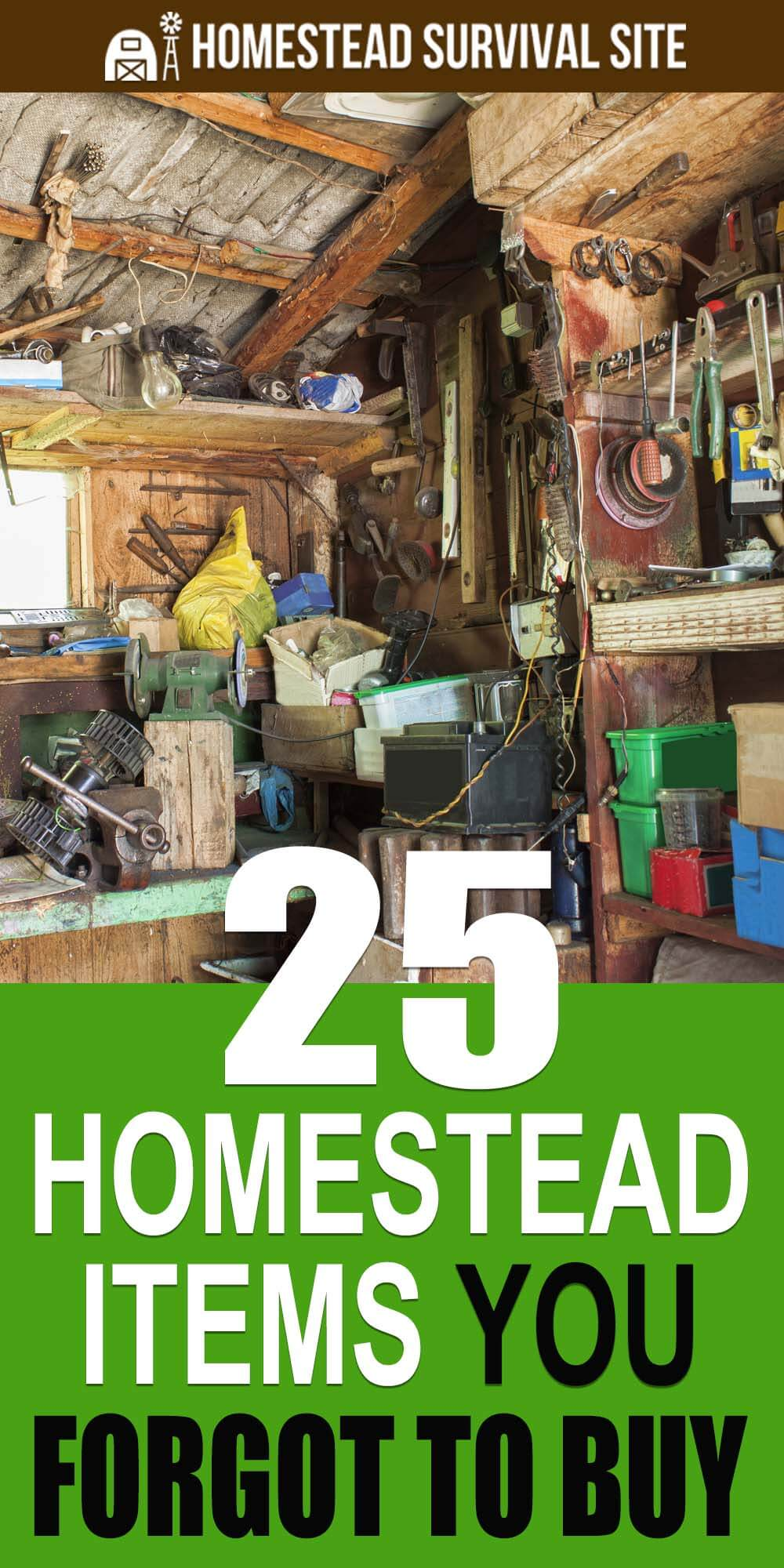 25 Homestead Items You Forgot To Buy