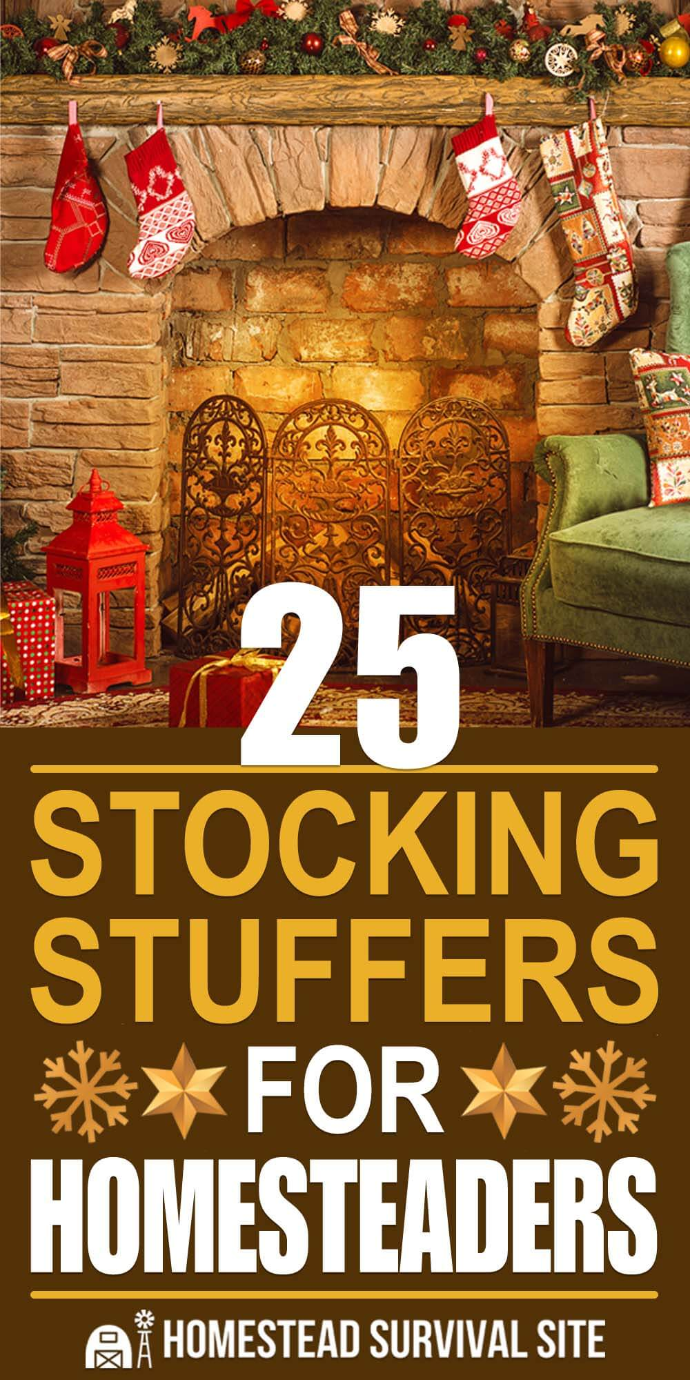 25 Stocking Stuffers for Homesteaders