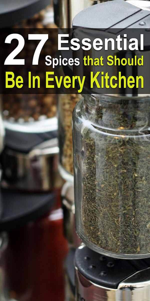 27 Essential Spices That Should Be In Every Kitchen