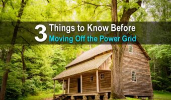3 Things to Know Before Moving Off The Power Grid