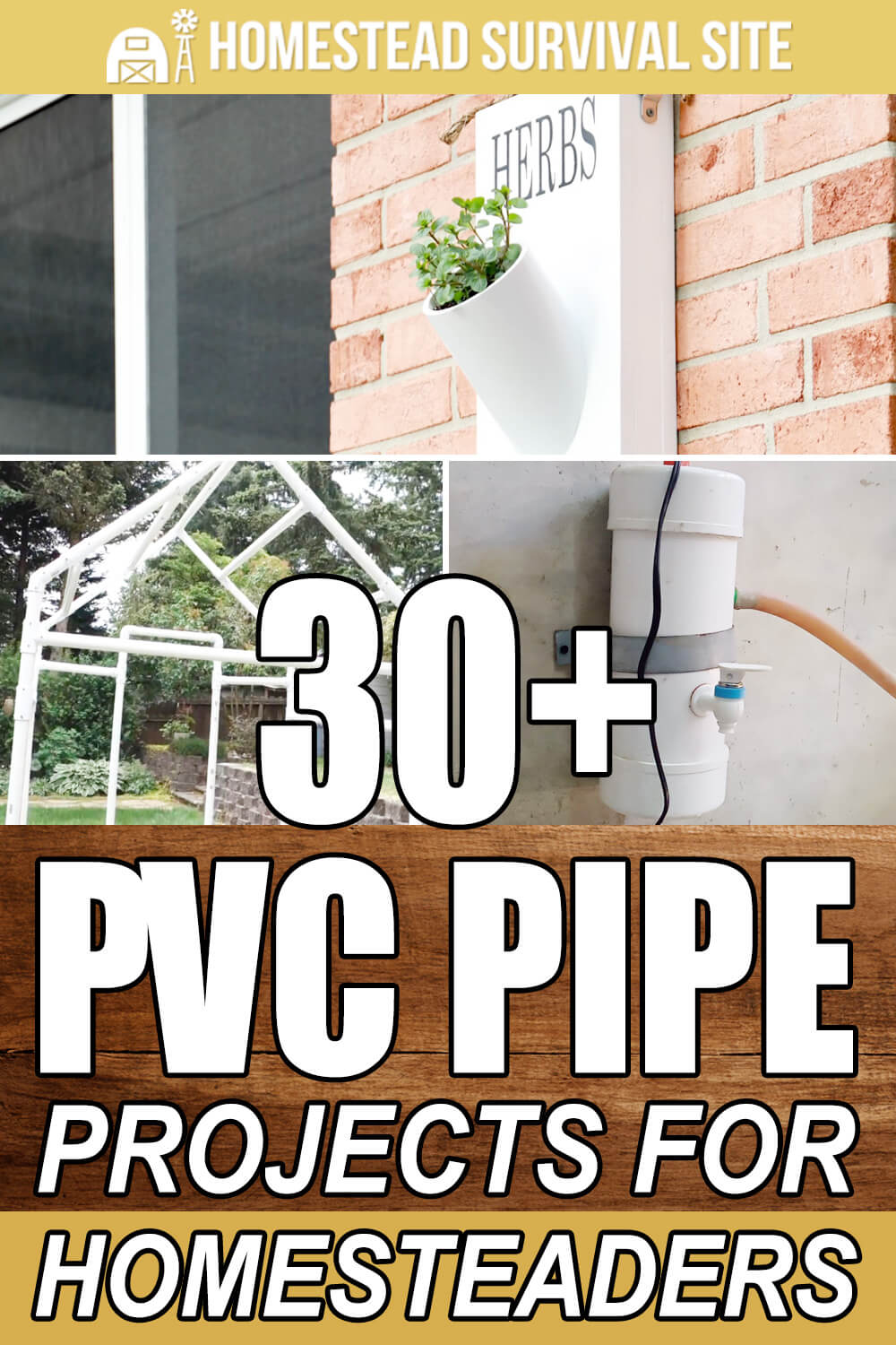 30+ PVC Pipe Projects for Homesteaders