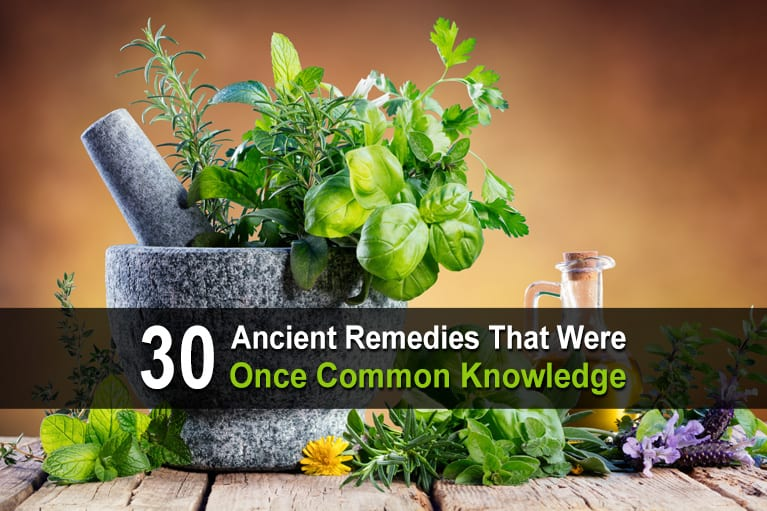 30 Ancient Remedies That Were Once Common Knowledge