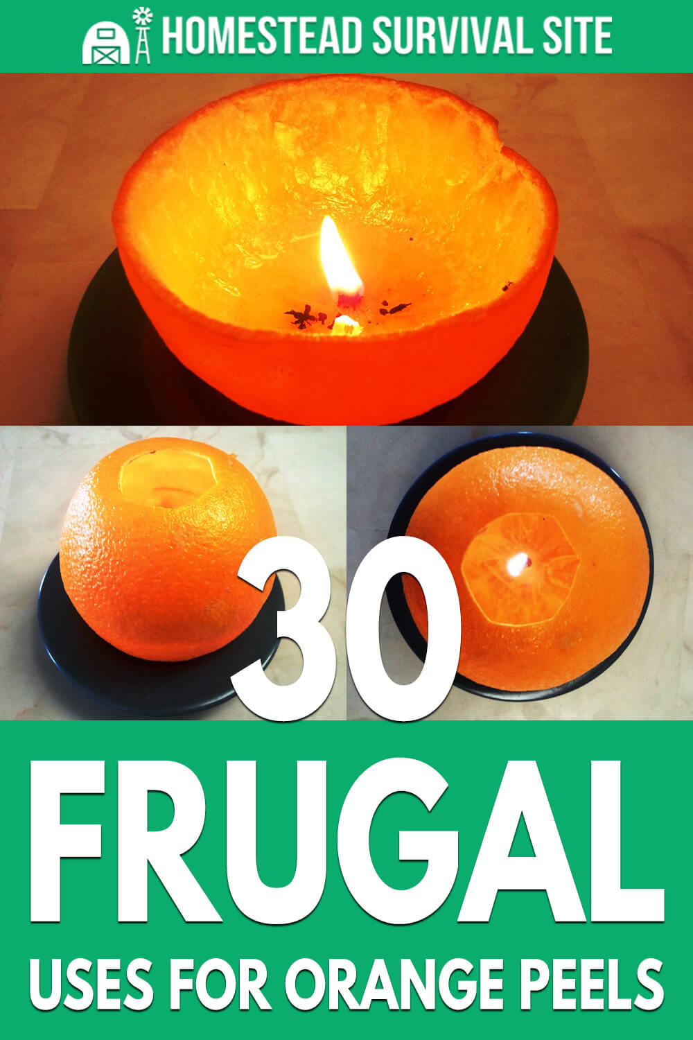 30 Frugal Uses for Orange Peels