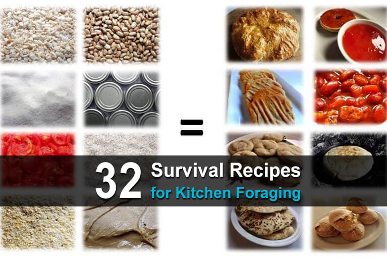 32 Survival Recipes for Kitchen Foraging