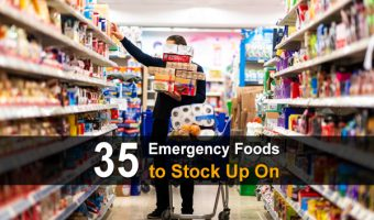 35 Emergency Foods To Stock Up On