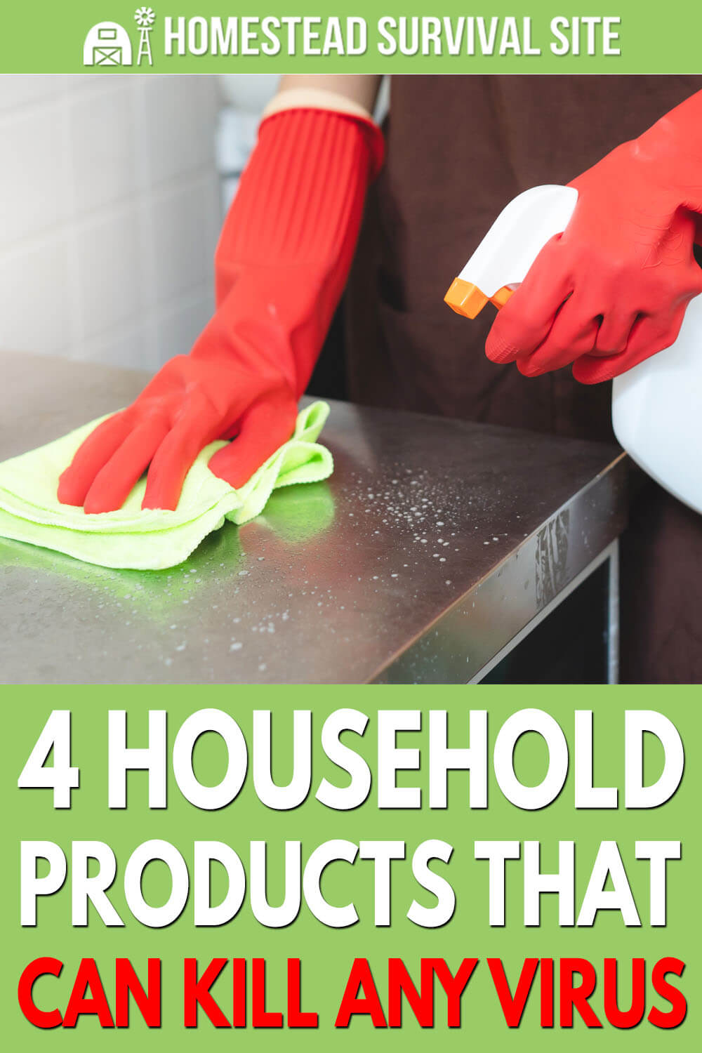4 Household Products That Can Kill Any Virus