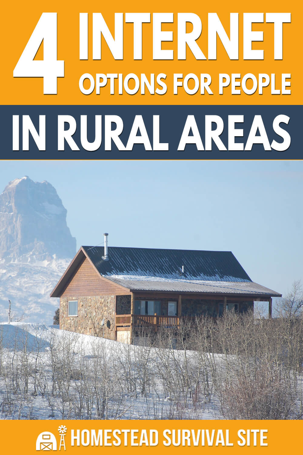 4 Internet Options for People in Rural Areas
