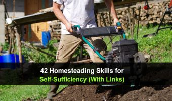 42 Homesteading Skills for Self-Sufficiency (With Links!)