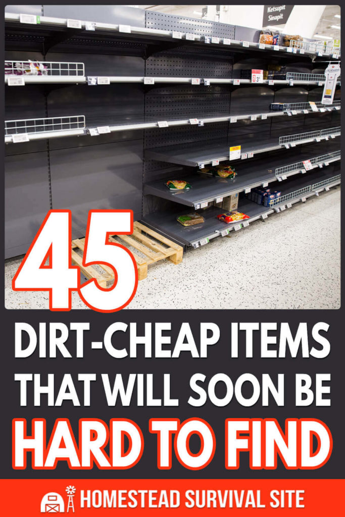 45 Dirt-Cheap Items That Will Soon Be Hard To Find