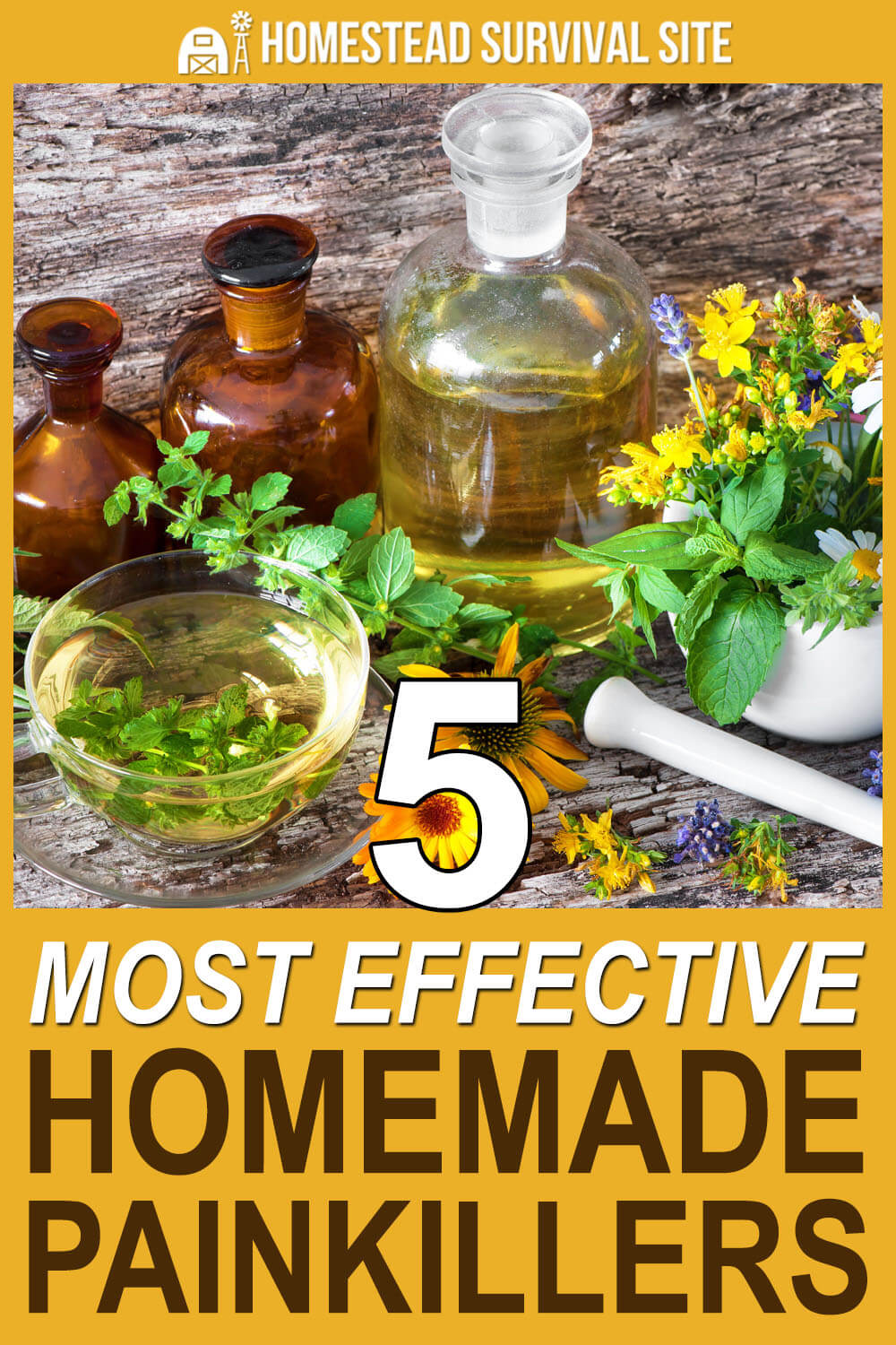 5 Most Effective Homemade Painkillers