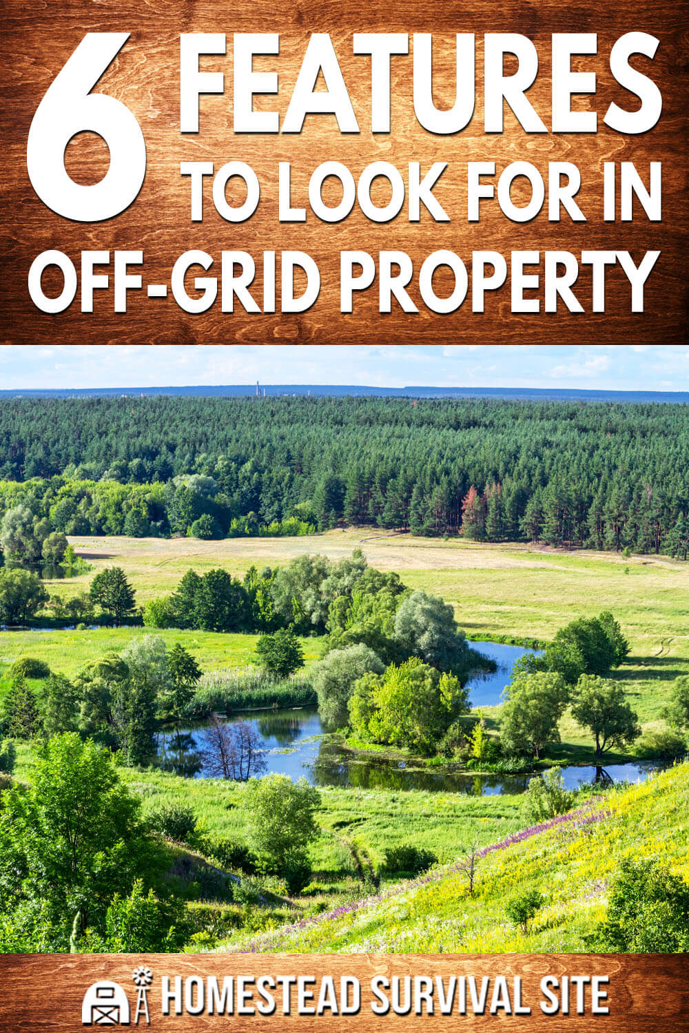 6 Features To Look For In Off-Grid Property