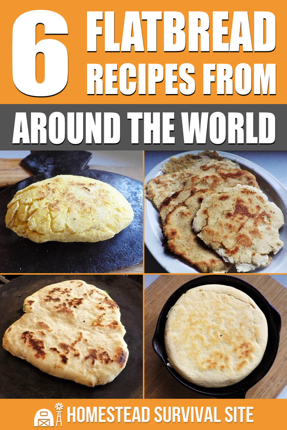 6 Flatbread Recipes From Around The World