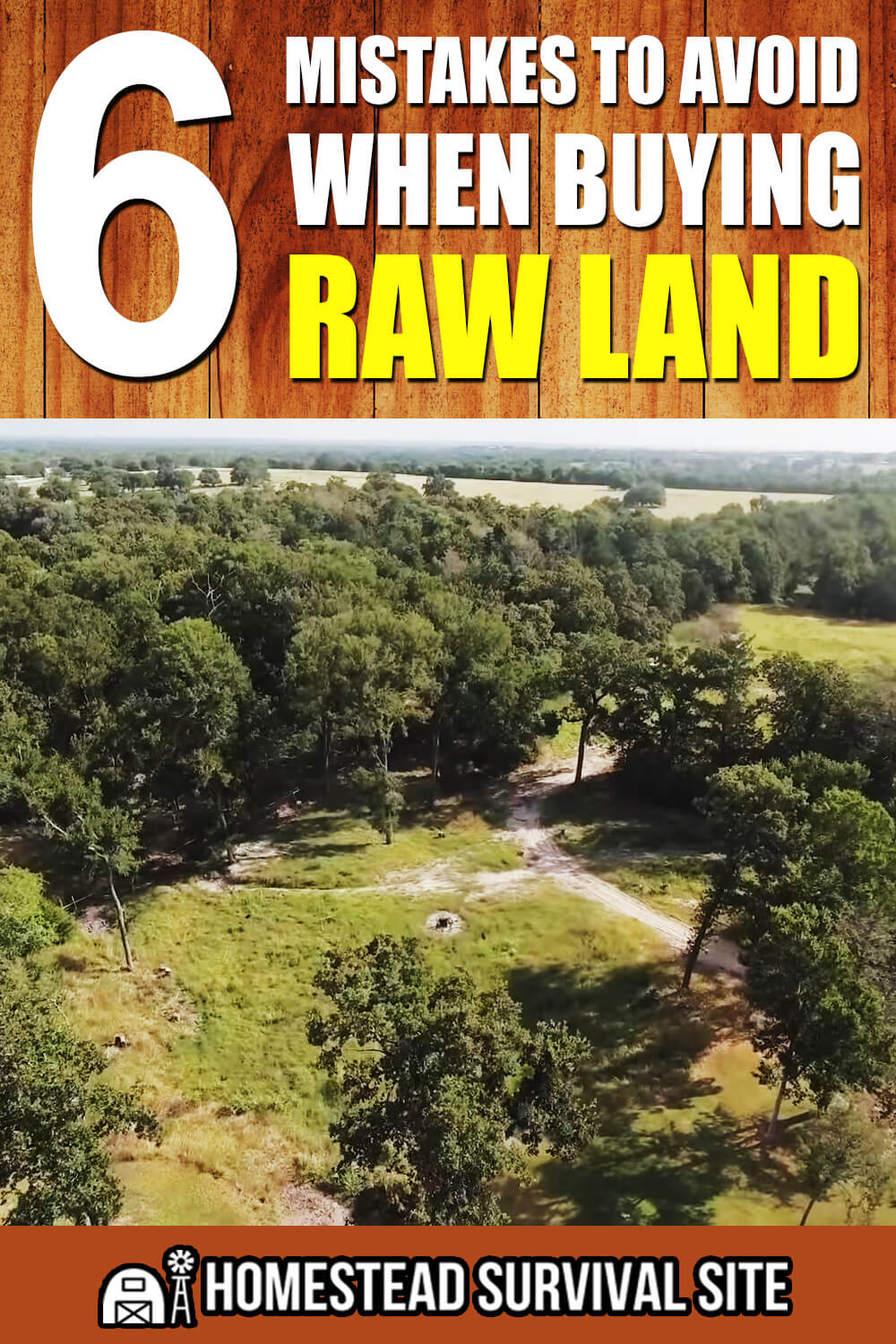 6 Mistakes To Avoid When Buying Raw Land