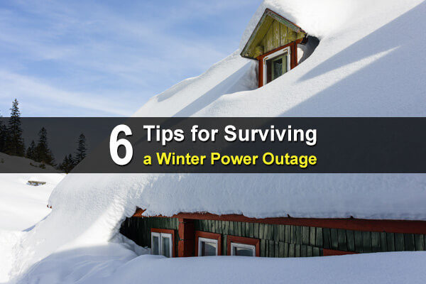 6 Tips for Surviving a Winter Power Outage