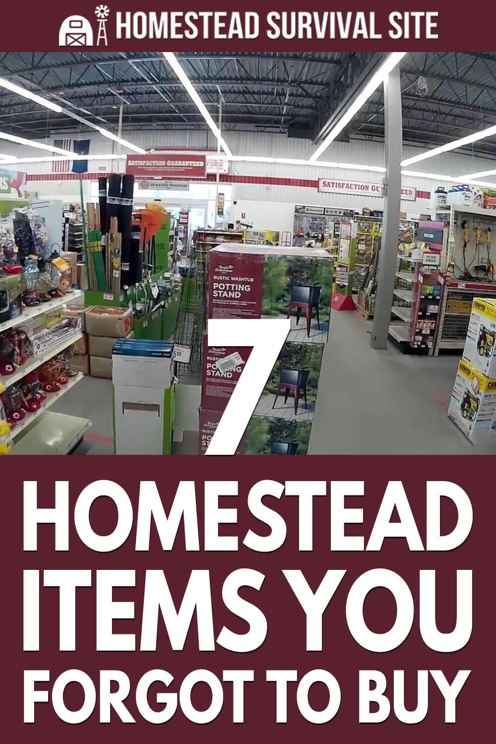 7 Homestead Items You Forgot To Buy